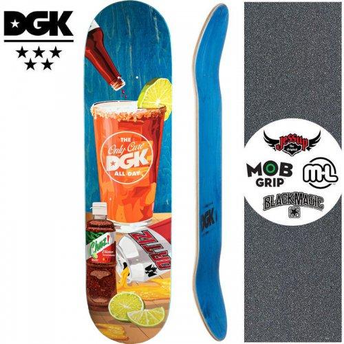【ディージーケー DGK スケートボード デッキ】CORNER STORE ORTIZ DECK【8.0インチ】NO365