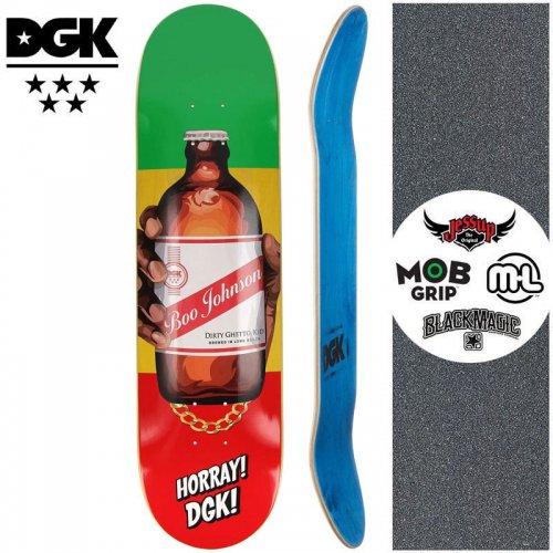 【ディージーケー DGK スケートボード デッキ】CORNER STORE BOOK DECK【7.9インチ】NO366