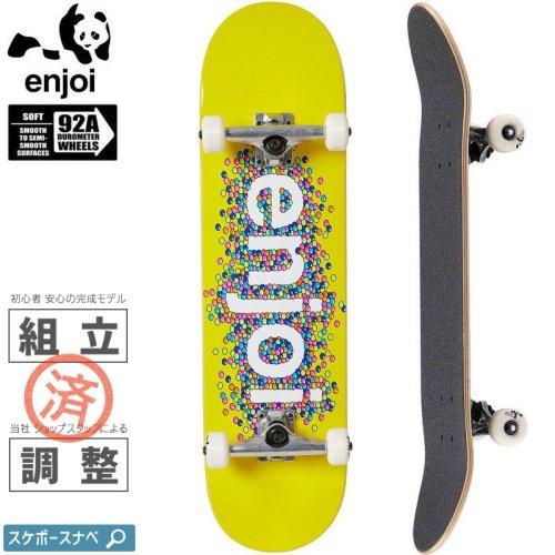 【エンジョイ ENJOI スケートボード コンプリート】CANDY COATED FP COMPLETE 92A【8.25インチ】NO50