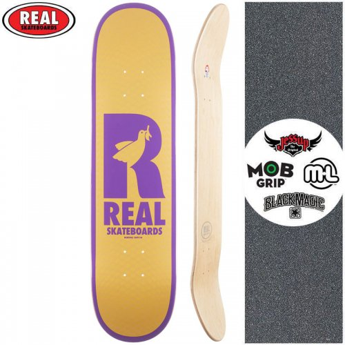 【リアル REAL スケートボード デッキ】DOVES RENEWAL DECK【7.75インチ】NO182
