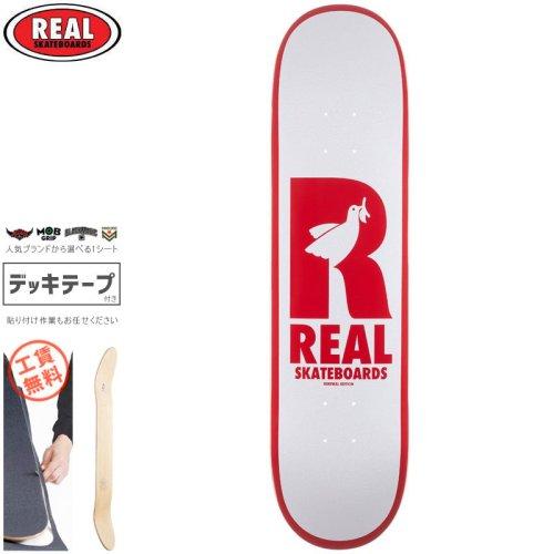 【リアル REAL スケートボード デッキ】DOVES RENEWAL DECK【8.06インチ】NO183