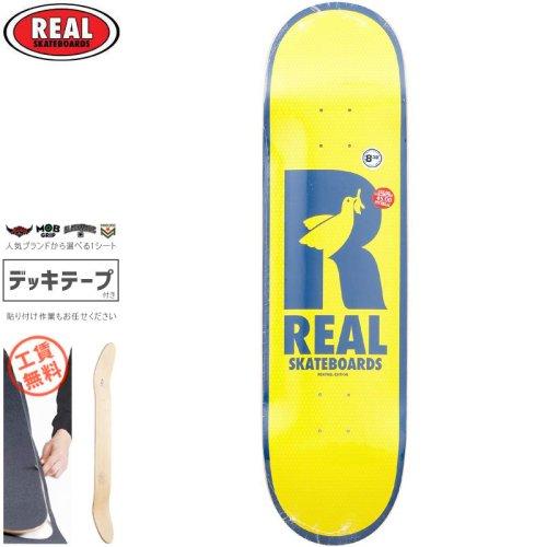 【リアル REAL スケートボード デッキ】DOVES RENEWAL DECK【8.38インチ】NO185
