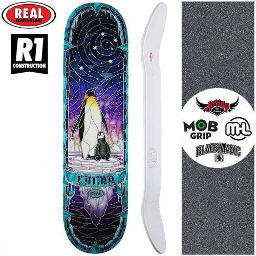 【リアル REAL スケートボード デッキ】CHIMA CATHEDRAL R1 DECK【8.25インチ】NO187