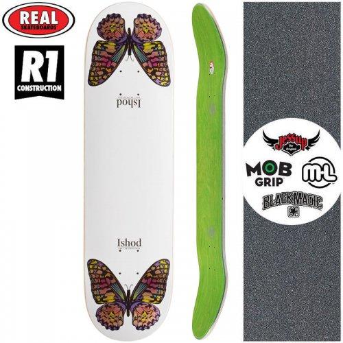 【リアル REAL スケートボード デッキ】ISHOD MONARCH TWIN TAIL R1 DECK【8.25インチ】NO191