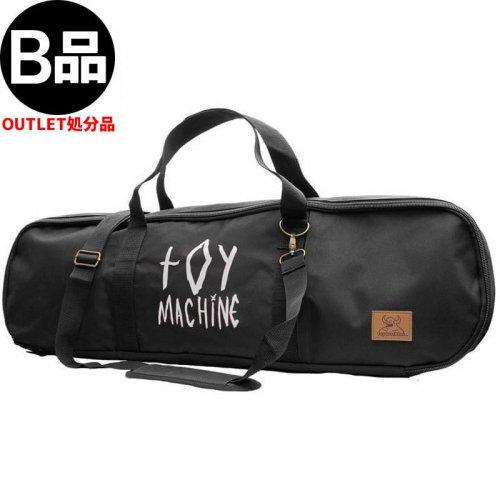 アウトレット【TOY MACHINE トイマシーン スケボー バッグ】BLACK SKATEBOARD DUFFLE BAG ダッフルバッグ