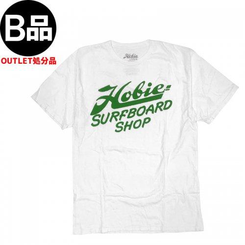 アウトレット【ハーレー HURLEY サーフ Tシャツ】HOBIE x HURLEY SURF N SHOP TEE【ホワイト x グリーン】