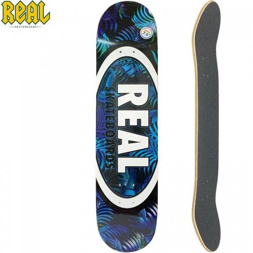 【リアル REAL スケートボード デッキ】TEAM TROPIC OVALS II DECK【7.5インチ】NO196