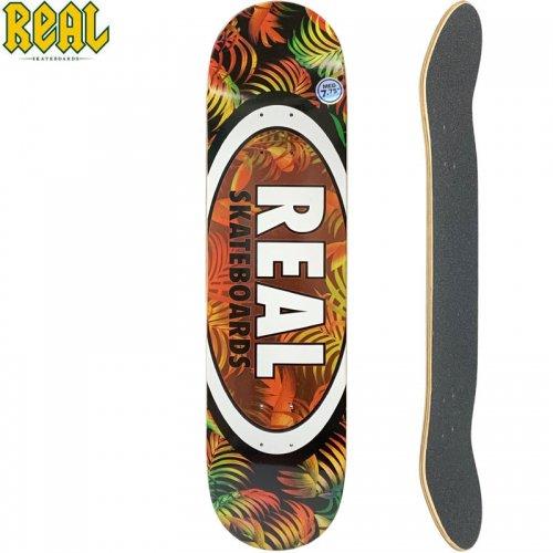 【リアル REAL スケートボード デッキ】TEAM TROPIC OVALS II DECK【7.75インチ】NO197