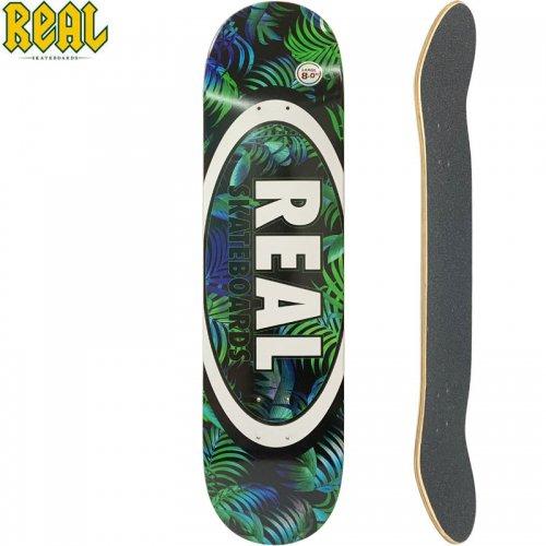 【リアル REAL スケートボード デッキ】TEAM TROPIC OVALS II DECK【8.0インチ】NO198