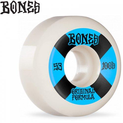 【ボーンズ BONES スケボー ウィール】OG FORMULA 100A #4 V5 SIDECUTS WHEELS【53mm】NO255