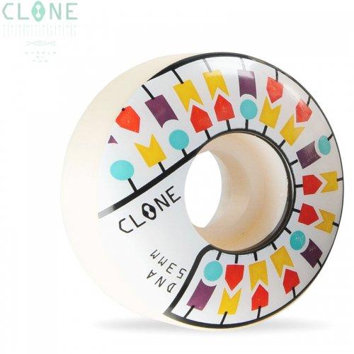 【ALIEN WORKSHOP エイリアンワークショップ スケボー ウィール】CLONE DNA WHEELS 99A ホワイト【53mm】NO22