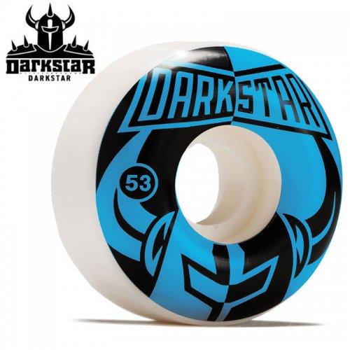 【ダークスター DARKSTAR ウィール】DIVIDE WHEELS BLUE/BLACK 99A【53mm】NO56