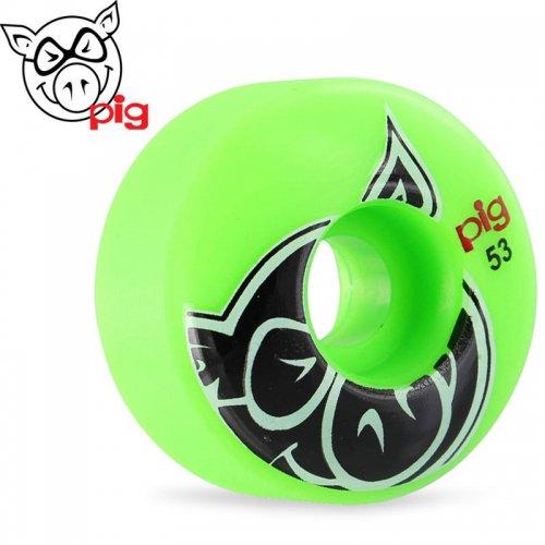 【ピッグ PIG WHEELS ウィール】PRO-LINE HEAD グリーン 101A【53mm】NO51