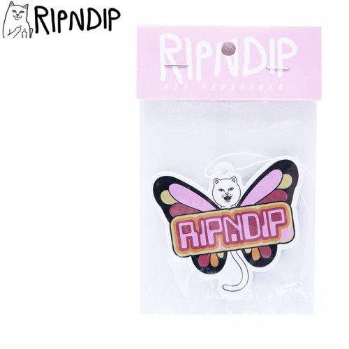 【RIPNDIP リップンディップ スケボー 芳香剤】BUTTERFLY AIR FRESHENER マルチ NO11