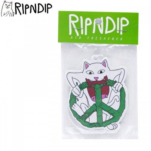【RIPNDIP リップンディップ スケボー 芳香剤】NO PEACE AIR FRESHENER  マルチ NO12