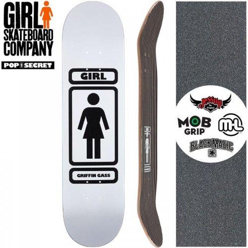 【ガール GIRL スケートボード デッキ】GASS 93 TIL POP SECRET DECK【8.0インチ】NO274