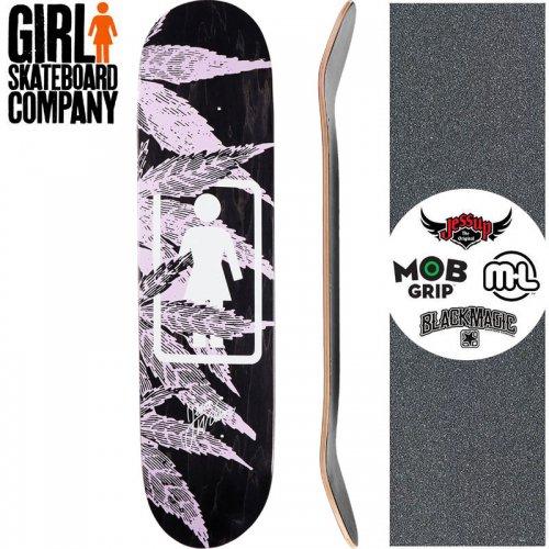 【ガール GIRL スケートボード デッキ】WILSON SMOKE SESSION DECK【8.0インチ】NO278