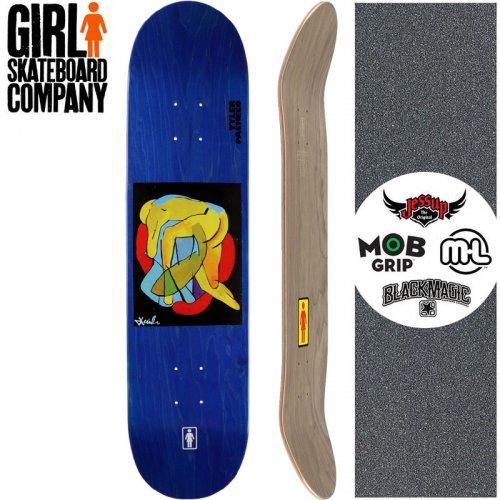 【ガール GIRL スケートボード デッキ】PACHECO TANGLED ONE OFF DECK【8.0インチ】NO280