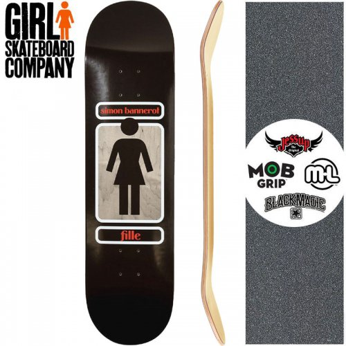 【ガール GIRL スケートボード デッキ】BANNEROT 93 TIL DECK【8.25インチ】NO283