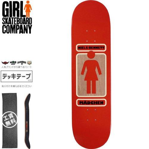 【ガール GIRL スケートボード デッキ】BENNETT 93 TIL DECK【8.12インチ】NO284