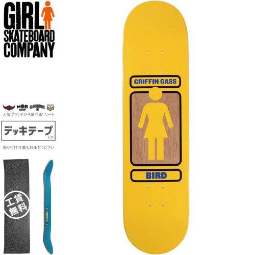 【ガール GIRL スケートボード デッキ】GASS 93 TIL DECK【8.0インチ】NO287