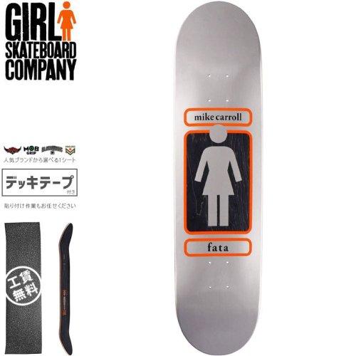 【ガール GIRL スケートボード デッキ】CARROLL 93 TIL DECK【8.12インチ】NO288