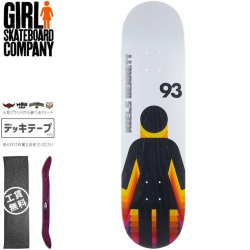 【ガール GIRL スケートボード デッキ】BENNETT FUTURE OG DECK【8.12インチ】【8.25インチ】NO290