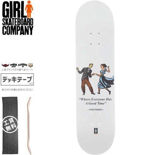 【ガール GIRL スケートボード デッキ】PACHECO GOOD TIMES DECK【8.0インチ】NO293