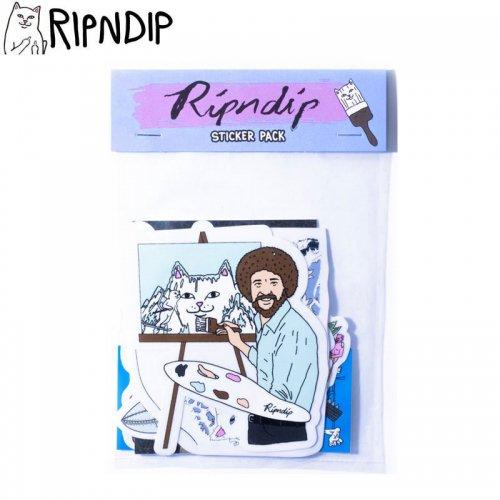 【RIPNDIP リップンディップ ステッカー】ARTIST SERIES STICKER PACK 10枚入り NO2