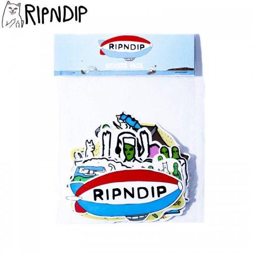 【RIPNDIP リップンディップ ステッカー】ROSWELL BEACH STICKER PACK 10枚入り NO4
