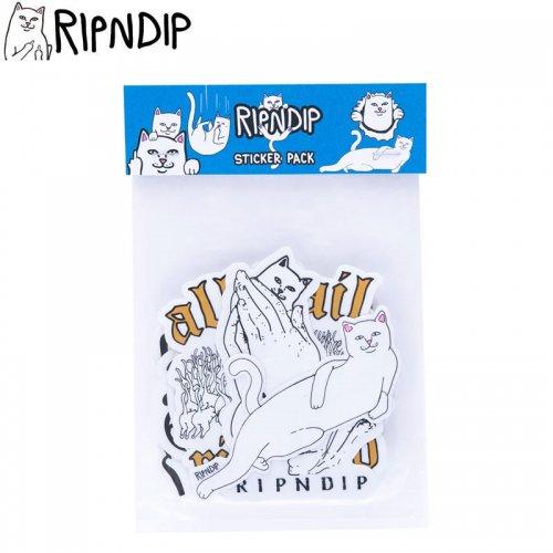 【RIPNDIP リップンディップ ステッカー】NERMAL STICKER PACK 10枚入り NO10