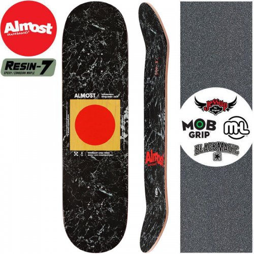 【オルモスト ALMOST スケボー デッキ】MINIMALIST R7 DECK【8.25インチ】NO207