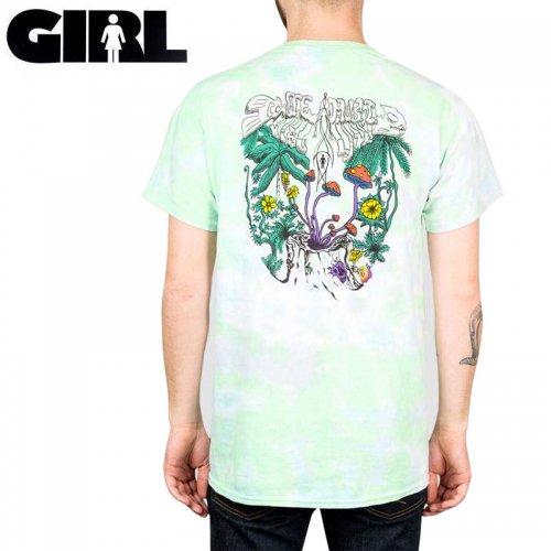 【ガール GIRLSKATEBOARD スケボー Tシャツ】VISUALIZE TEE【タイダイ】NO321
