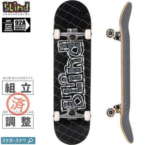 【ブラインド BLIND スケートボード コンプリート】OG GRUNDGE LOGO FP COMPLETE 92A【8.0インチ】NO146
