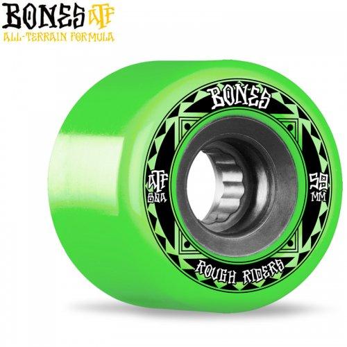 【ボーンズ BONES スケボー ソフトウィール】ATF ROUGH RIDER 80A グリーン【56mm】NO262