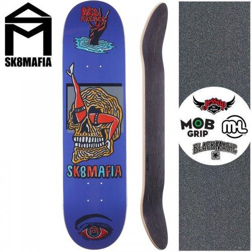【スケートマフィア SK8MAFIA スケートボード デッキ】KREMER WARD DECK【8.0インチ】NO137