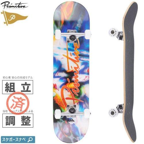 【プリミティブ PRIMITIVE スケートボード コンプリート】NUEVO MELT COMPLETE 98A【8.125インチ】NO27