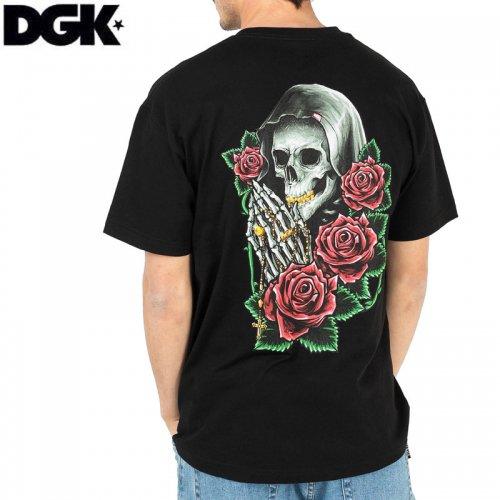 【DGK ディージーケー スケボー Tシャツ】PRAY TEE【ブラック】NO312