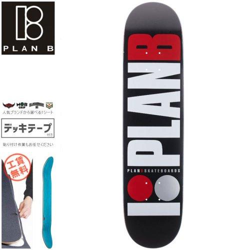 【プランビー PLAN-B スケートボード デッキ】TEAM OG RED DECK【7.75インチ】NO196