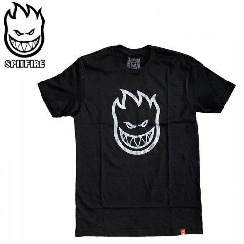 【SPITFIRE キッズ Tシャツ】BIGHEAD YOUTH TEE ユースサイズ 【ブラック×メタルシルバー】NO73