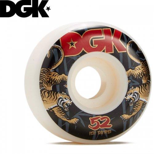 【DGK ディージーケー スケボー ウィール】STRENGHT WHEELS 101A【52mm】NO12