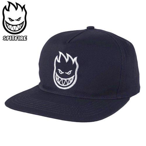 【スピットファイヤー SPITFIRE ベースボールキャップ】BIGHEAD SNAPBACK HAT ネイビー×ホワイト NO84