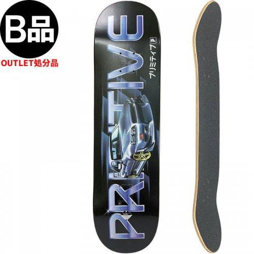 【PRIMITIVE プリミティブ スケートボード デッキ】RPM DECK【8.25インチ】NO129