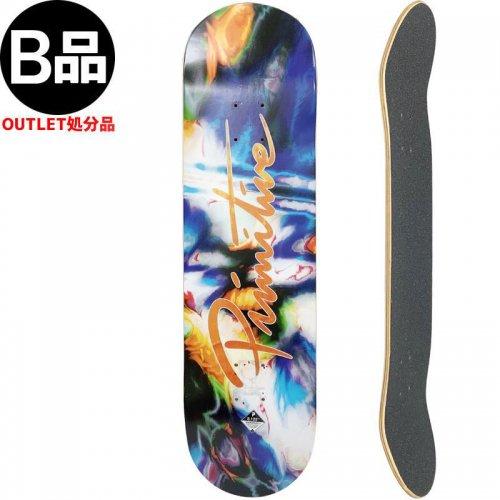 【PRIMITIVE プリミティブ スケートボード デッキ】NUEVO MELT DECK【8.125インチ】NO132