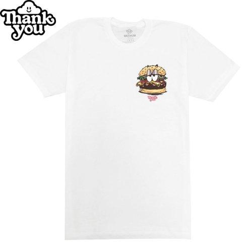 【THANK YOU サンキュー スケボー Tシャツ】JUNK FOOD TEE【ホワイト】NO5