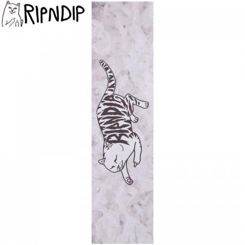 【RIPNDIP リップンディップ スケボー デッキテープ】TATTOO NERM GRIPTAPE 9 x 33 ホワイト NO10