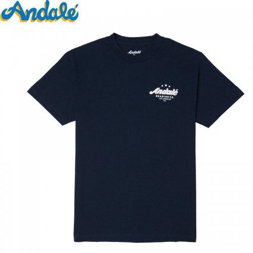 【ANDALE アンダレー アンデール スケートボード Tシャツ】TAKE FLIGHT PRICEPOINT TEE【ネイビー】NO1