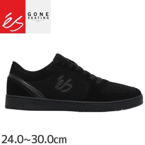 【エス ES FOOTWEAR スケートシューズ スニーカー】EOS SHOESE スウェード【ブラック×ブラック】NO131