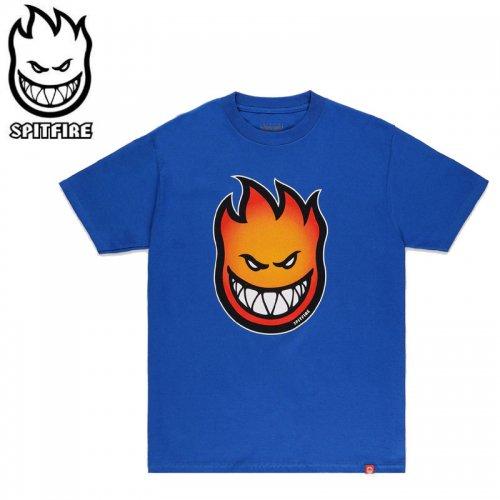 【SPITFIRE キッズ Tシャツ】BIG HEAD FADE FILL YOUTH TEE ユースサイズ 【ロイヤル】NO76