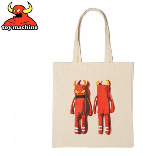 【TOY MACHINE トイマシーン スケボー バッグ】MONSTER PUPPET TOTE BAG トートバッグ NO7